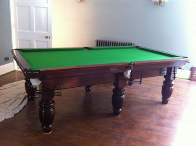 Undersized Snooker Tables
