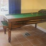 1930s Jelks Bar Billiard table