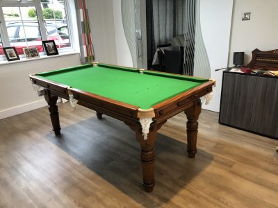 6ft E J Riley Snooker Diner