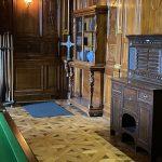 Thurston Oak Cabinet scoreboard
