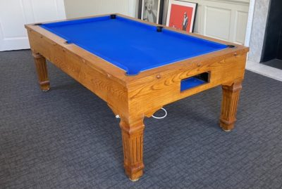 7ft Oak pool table