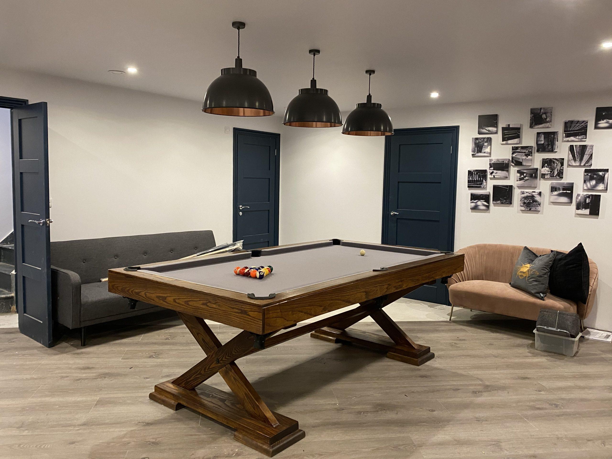8ft Ash pool Table