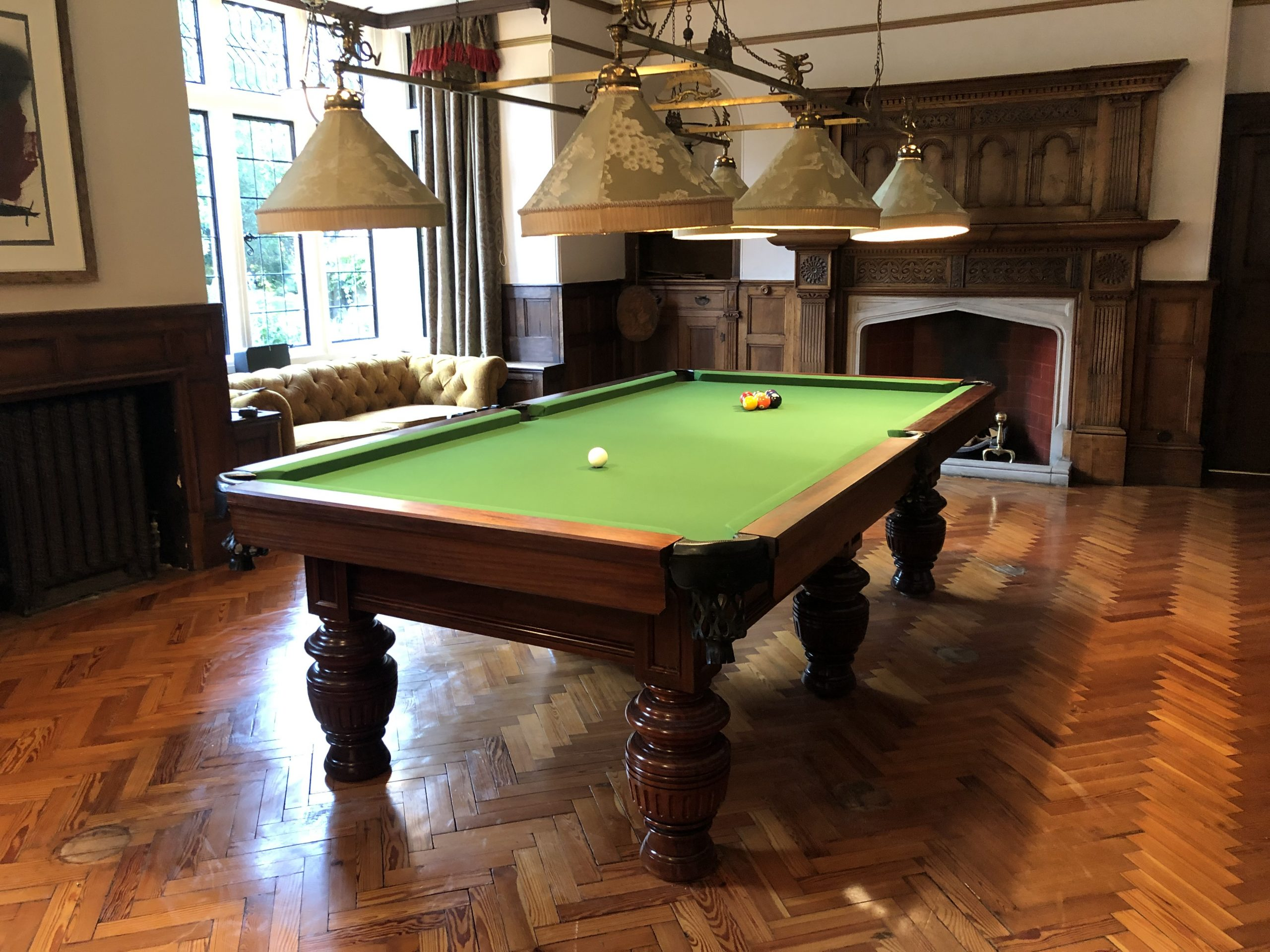 Bespoke Cut Down Pool Table