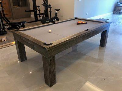 8 Bespoke Oak Pool Table