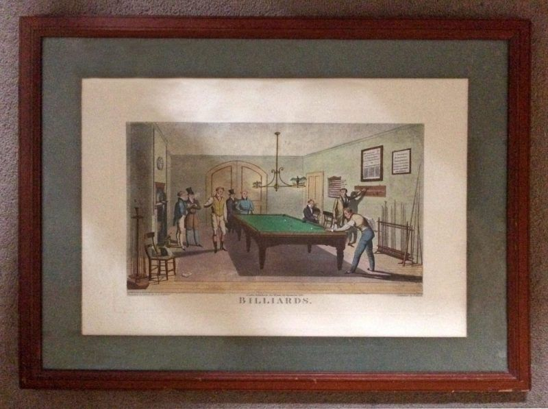 billiards print