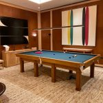 10ft Bespoke Oak Snooker Table