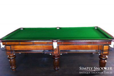 Antique Snooker Tables