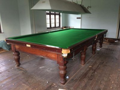 refurbished pool tables